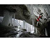 Extreme Sports, Climbing, Ice Climbing