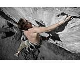 Extreme sports, Climbing, Sport climbing, Free climber