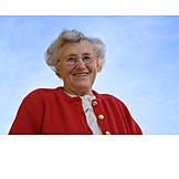Frau, über 60 Jahre, Seniorin