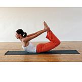Sports & fitness, Yoga, Dhanurasana