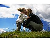 Mutter, Pflege & Fürsorge, Zusammenhalt, Tochter