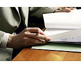 Businessman, Office & Workplace, Document
