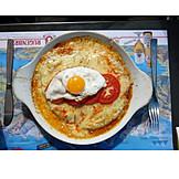 European cuisine, Fried egg