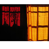 Shadow, Curtain