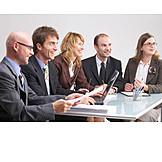 Teamarbeit, Besprechung & Unterhaltung, Meeting, Team