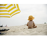 Toddler, Holiday & travel, Beach
