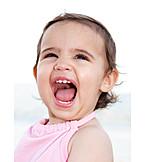 Toddler, Child, Laughing, Milk teeth