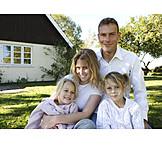 Geborgenheit, Sicherheit, Familie, Bausparen