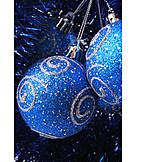 Christmas, Christmas ball, Tinsel