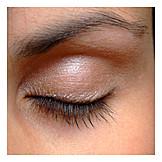 Eyelash, Eyelid, Make up, Eyeshadow
