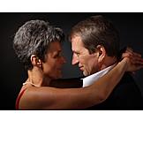 45-60 Years, Senior, Senior, Couple, Embracing