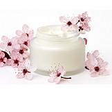 Cherry blossom, Cosmetics, Moisturizer