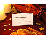 Christmas, Decoration, Greeting card