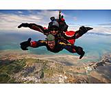 Action & Adventure, Parachute, Parachutist, Parachuting