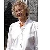 Woman, Over 60 Years, Senior
