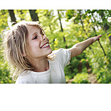 Mädchen, Sorglos & Entspannt, Ausgelassen, Porträt