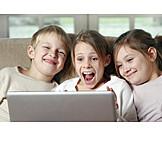 Enthusiastic, Domestic Life, Joy, Children