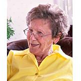 Grandmother, Over 60 Years, Pensioner, Senior