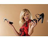 Enthusiastic, Purchase & Shopping, High Heels, Shoe Buying