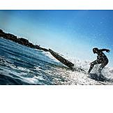 Action & Abenteuer, Surfen, Surfer