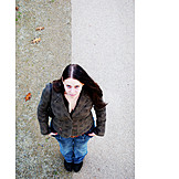 Topview, Young Woman, 18-30 Years