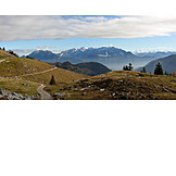 Mountain range, Bavaria, Himmelmossalm