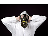 Danger & Risk, Pollution, Gas Mask, Air Pollution