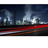 Industry, Oil Refinery, Schwechat