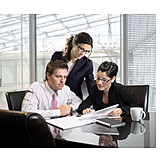 Business, Office & Workplace, Teamwork, Meeting & Conversation