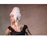 Cladding, Stage costume, Wig