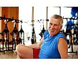 Man, Sports & Fitness, Active Seniors, Sporting