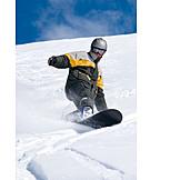 Action & Abenteuer, Wintersport, Snowboarder