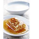 Honey, Honeycomb, Natural product