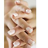 Fingernail, Manicure, French nails