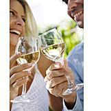 Wine, White wine, Toast