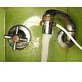Faucet, Flowing