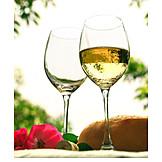 Wine glass, White wine