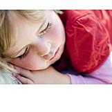 Girl, Sleeping, Siesta