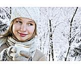 Mädchen, Essen & Trinken, Winterbekleidung
