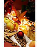 Christmas decoration, Christmas plates
