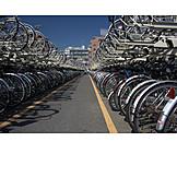 Bicycle rack, Bicycle parking