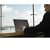 Palmtop, Office & workplace, Mobile communication, Businessman