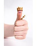 Success & Achievement, King, Thumbs Up