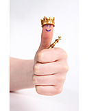 Success & Achievement, King, Thumbs Up