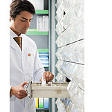 Pharmacy, Apothecary Cabinet, Pharmacist