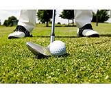 Golf Ball, Tee Box, Golfing, Golf