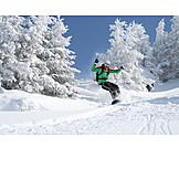 Action & Adventure, Winter Sport, Snowboarder