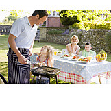 Broiling, Family, Bbq season, Barbecue