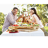 Couple, Eating & Drinking, Picnic