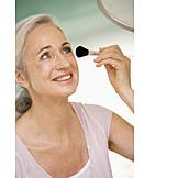 Beauty & Cosmetics, Over 60 Years, Senior, Body Care, Makeup, Makeup